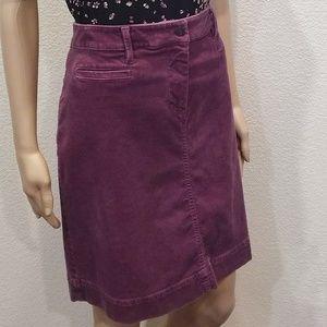 Talbots Dusty Rose Corduroy Pencil Skirt 10